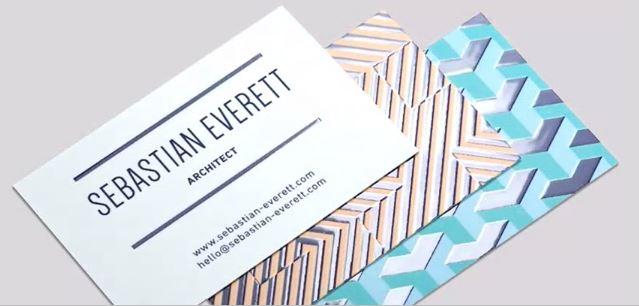 MOO Raised Spot Gloss Business Cards