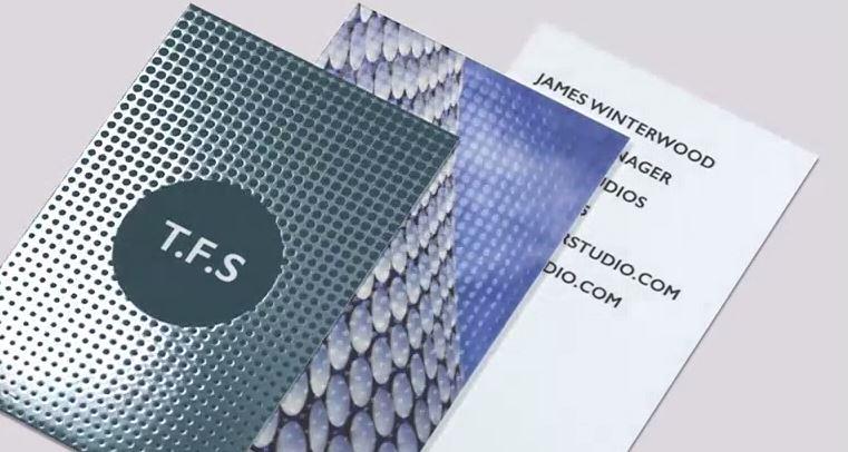 MOO Spot Gloss Business Cards