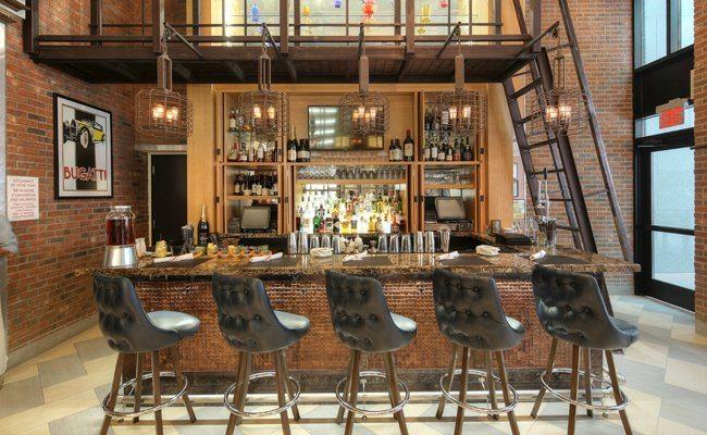 Archer Bugatti Bar. Photo courtesy of Carla Caccavale PR.