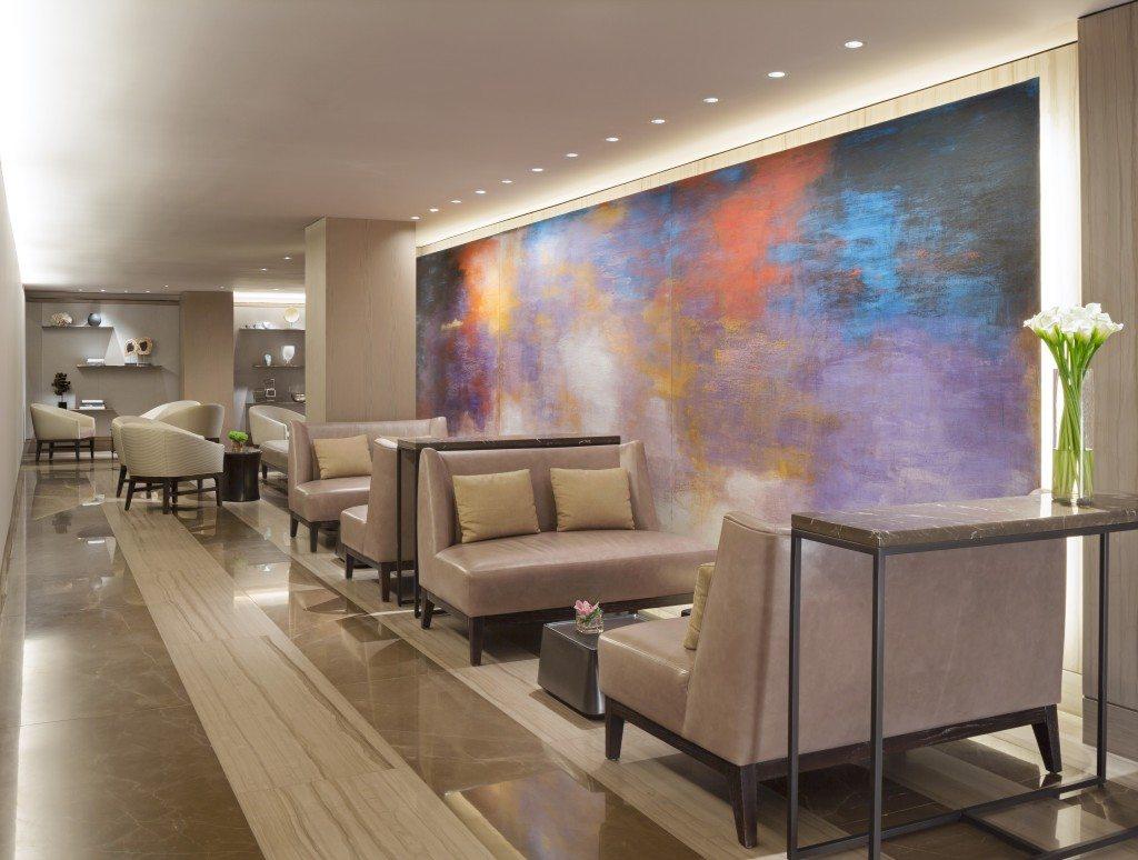 Hotel lobby. Photo courtesy of Evins Communications.