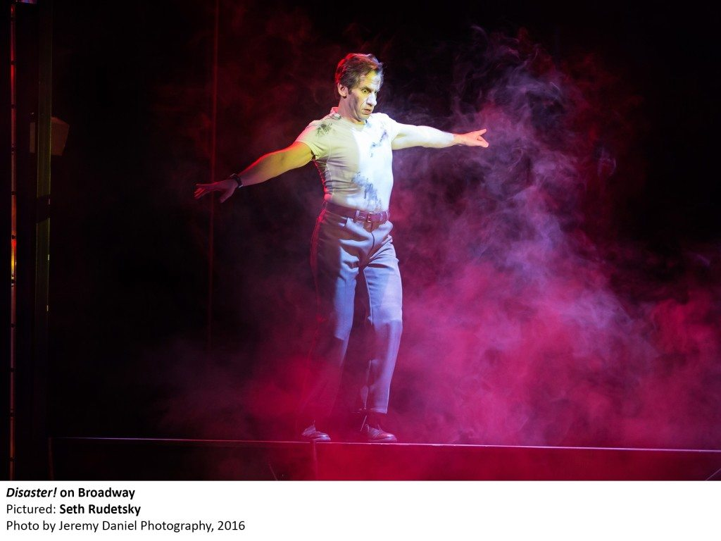 2766_Seth Rudetsky in DISASTER! on Broadway, photo by Jeremy Daniel Photography, 2016