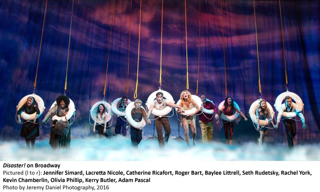 3553_The Company of DISASTER! on Broadway, Photo by Jeremy Daniel Photography, 2016