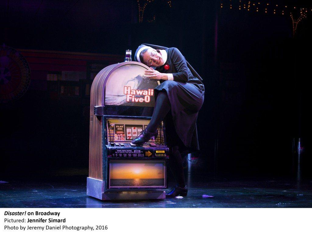 1636_Jennifer Simard in DISASTER! on Broadway, Photo by Jeremy Daniel Photography, 2016 (2)