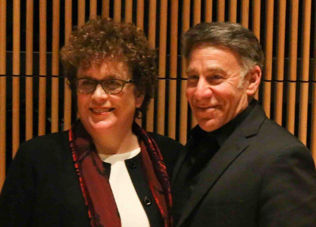 Judith Clurman and Stephen Schwartz. Photo courtesy of Judith Clurman.