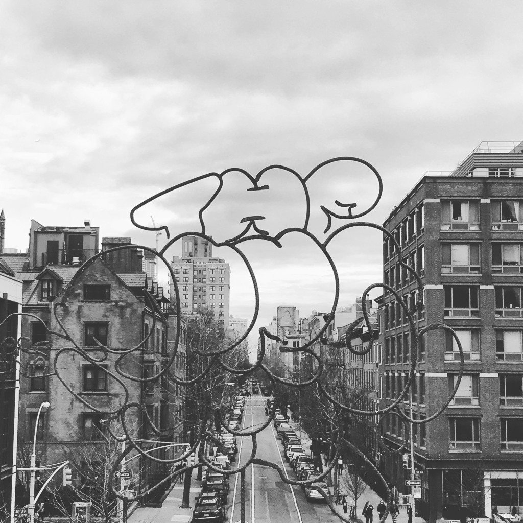 Art Installation, High Line, 2016