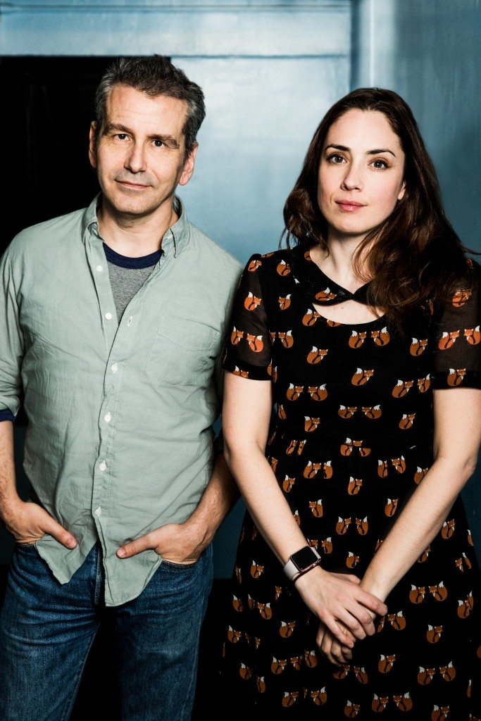 David Cromer (L) and Lucy Prebble (R). Photo by Matthew Murphy.