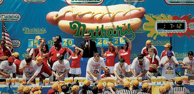 Credit: Nathan's Famous