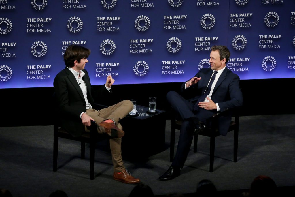 -  New York, NY, 6/13/16 - PaleyLive NY: An Evening with Seth Meyers -PICTURED: John Mulaney (Moderator), Seth Meyers -PHOTO by: Marion Curtis/Starpix