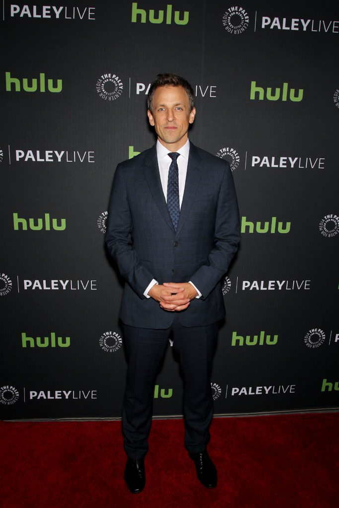 -  New York, NY, 6/13/16 - PaleyLive NY: An Evening with Seth Meyers -PICTURED: Seth Meyers -PHOTO by: Marion Curtis/Starpix