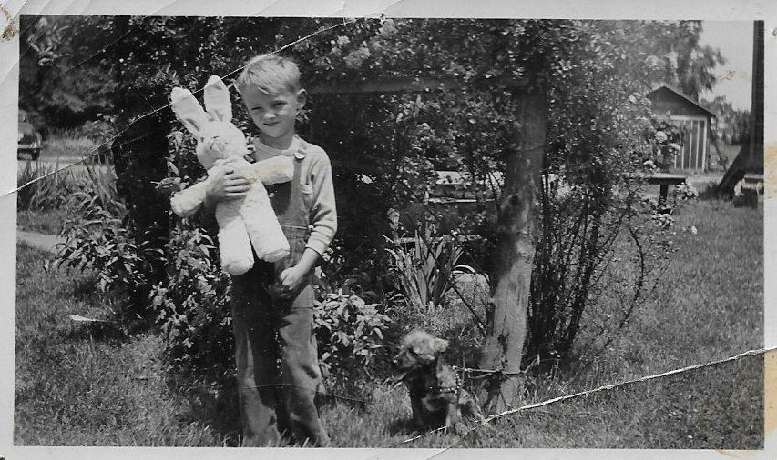 Collings as a young boy. Photo courtesy of Susan Schulman PR.
