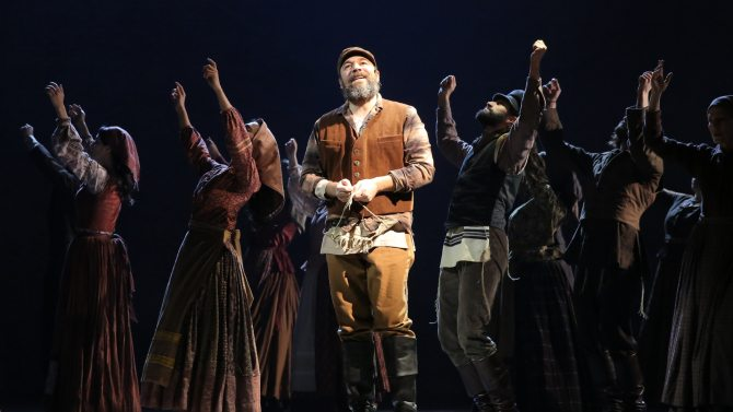 Danny Burstein in FIDDLER ON THE ROOF. Photo by Joan Marcus