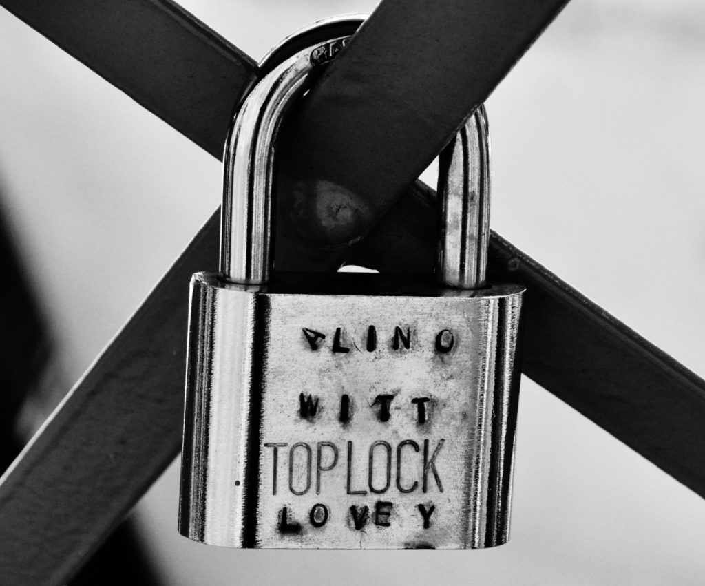 Message on a Lock