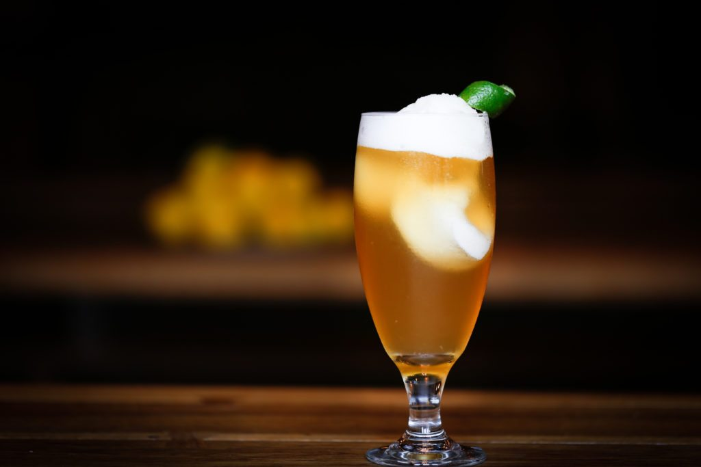 The Summer in Sicily: Beer Float, Sicilian Limone Sorbetto with Radeberger Pilsner