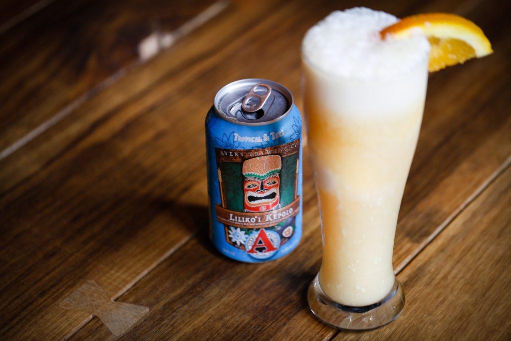 The Big Island: Beer Float, Caribbean Coconut Gelato with Avery Liliko'i Kepolo