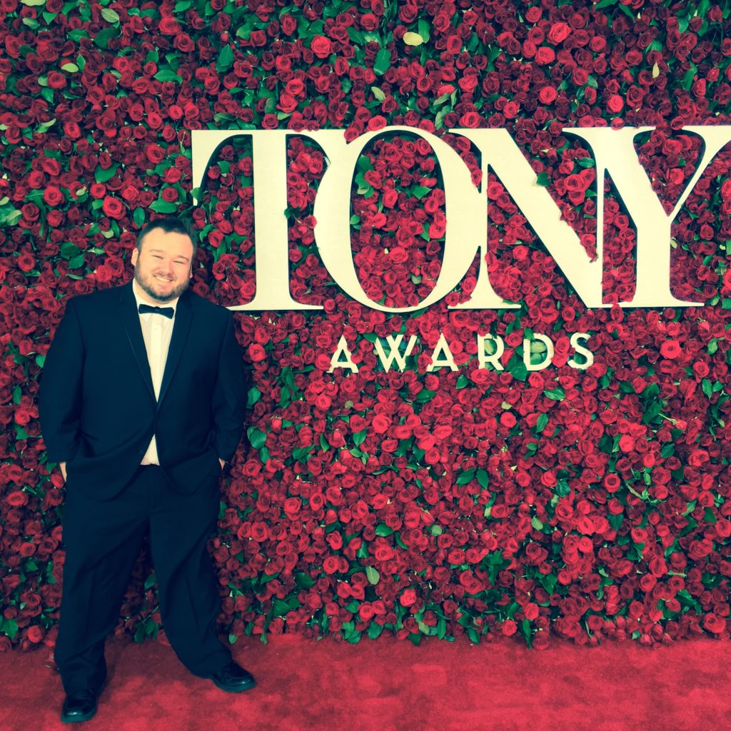 Tony Awards. Arrived.  Credit: Ryan Shea