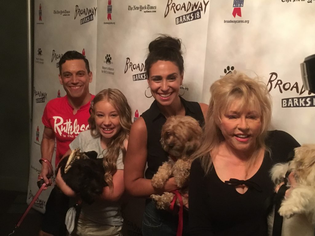 """The cast of """"Ruthless! The Musical."""" Photo by Ryan Leeds"""