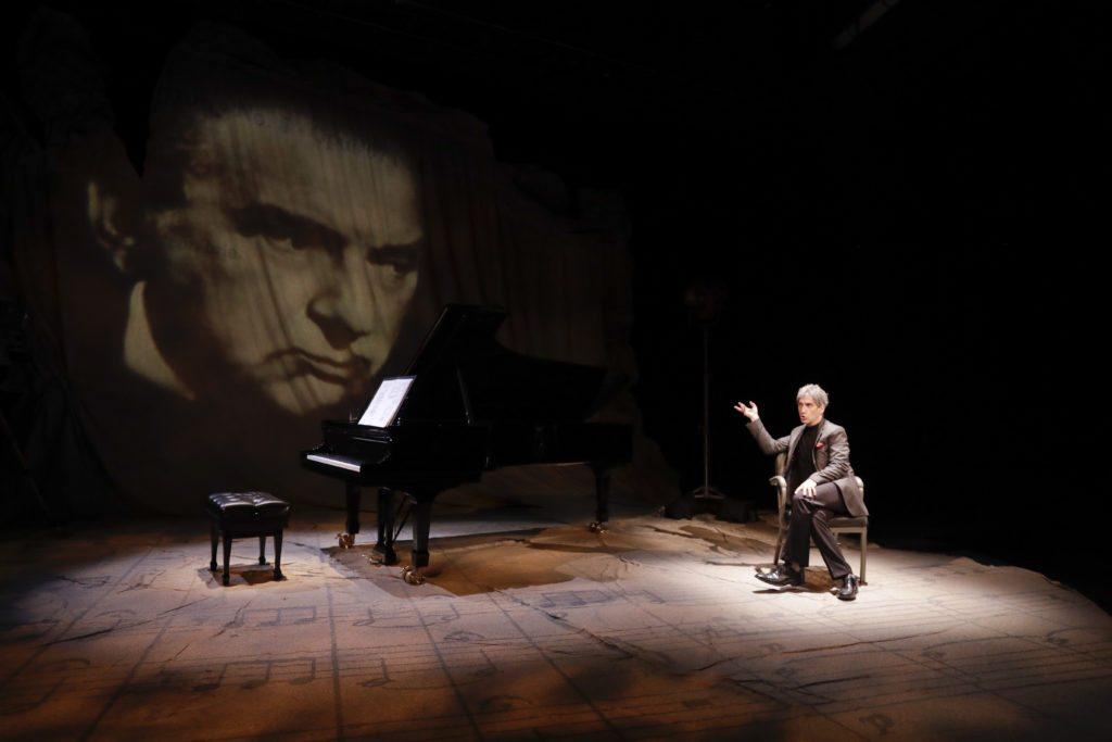Hershey Felder Maestro Leonard Bernstein.Photo courtesy of Hershey Felder Presents