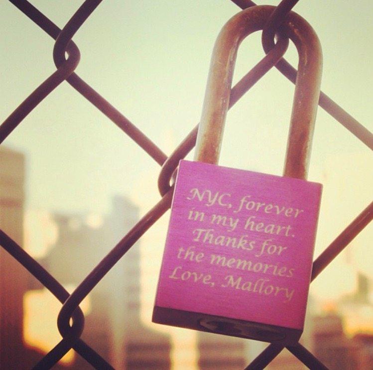 To NY, Love Mallory