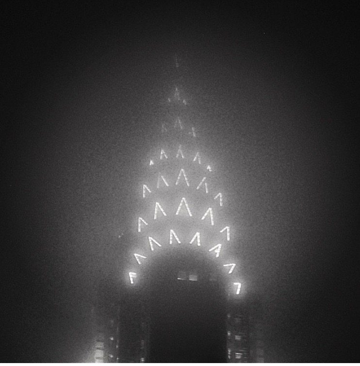 Chrysler Building in the Fog