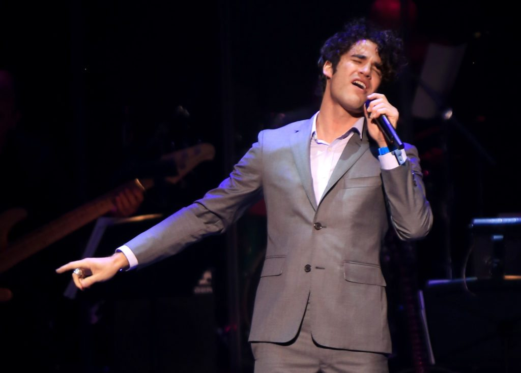 NEW YORK, NY - SEPTEMBER 12:  Darren Criss performs onstage at the 2nd Annual Voices For The Voiceless:  Stars For Foster Kids Benefit at the Al Hirschfeld Theatre on September 12, 2016 in New York City.  (Photo by Anna Webber/Getty Images for Voices for the Voiceless)