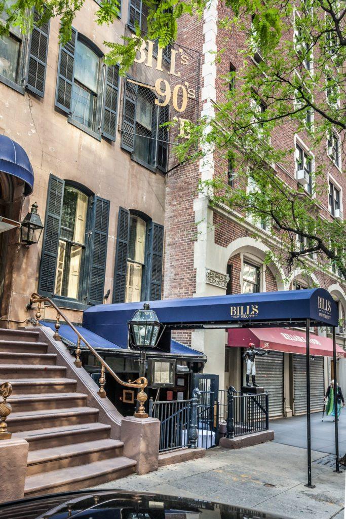 Bill's Townhouse, Manhattan Restaurants