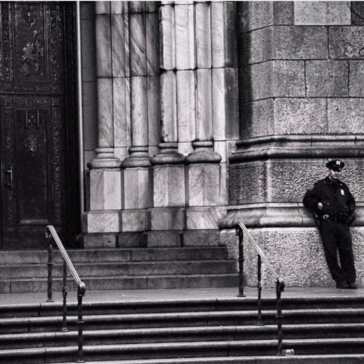 Guarding St. Pat's