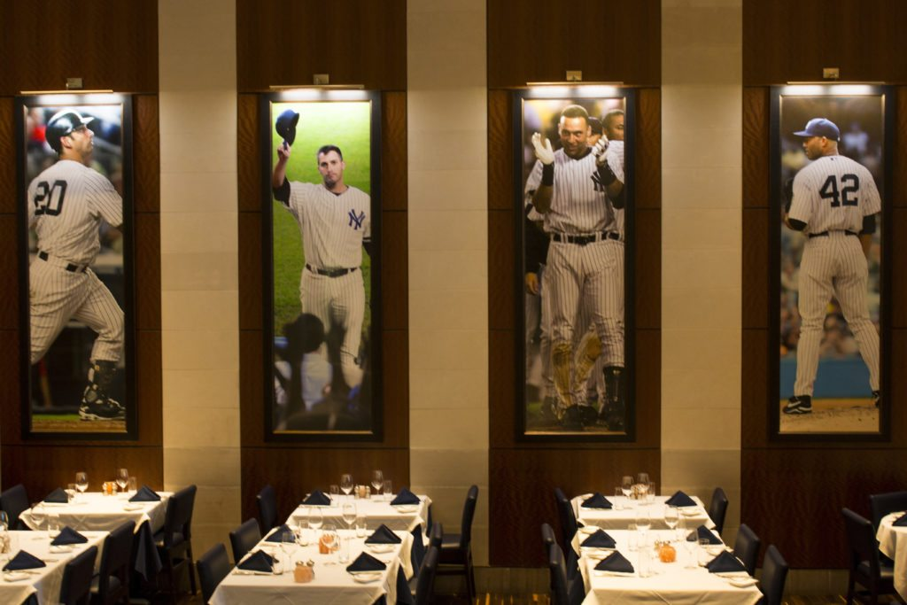 Credit: New York Yankees Steakhouse