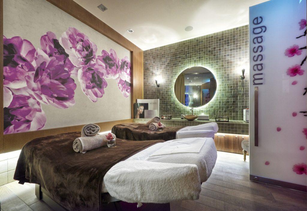 Couples Massage Room at the Harmony Spa