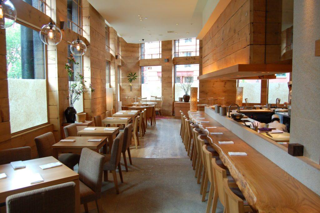 Restaurants, Brushstroke NYC