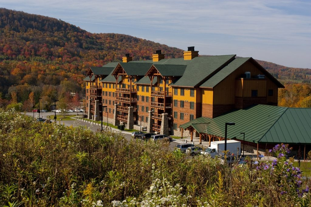 North America, USA, New York State, Cortland County, Virgil, Greek Peak Mountain Resort
