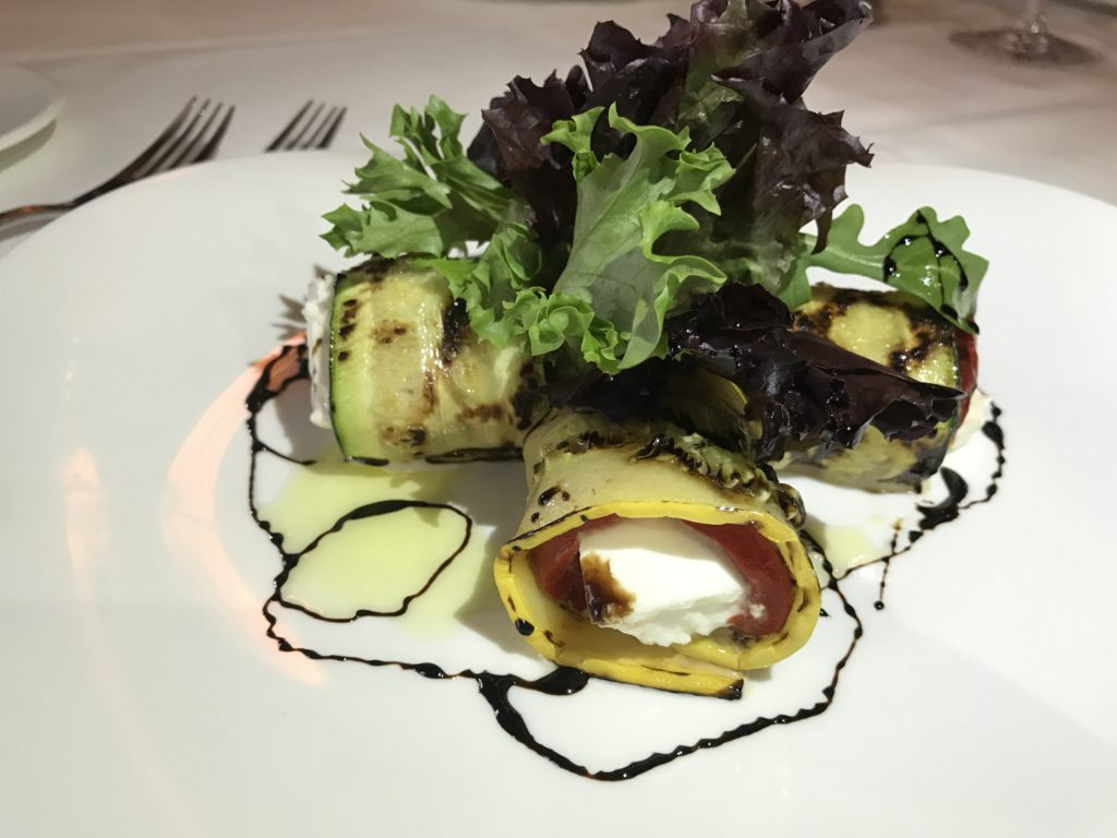 Grilled Zucchini. Photo courtesy of Hall PR.