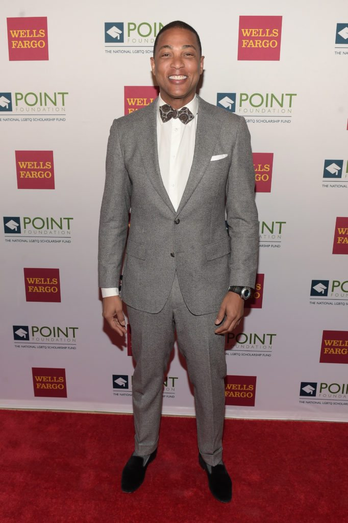 NEW YORK, NY - APRIL 03:  CNN News Anchor Don Lemon attends the Point Honors Gala at The Plaza Hotel on April 3, 2017 in New York City.  (Photo by Jason Kempin/Getty Images for Point Foundation)