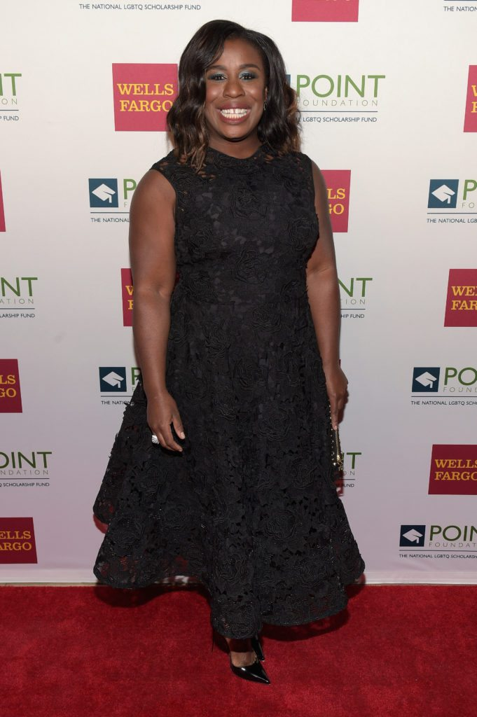 NEW YORK, NY - APRIL 03:  Honoree, actress Uzo Aduba attends the Point Honors Gala at The Plaza Hotel on April 3, 2017 in New York City.  (Photo by Jason Kempin/Getty Images for Point Foundation)