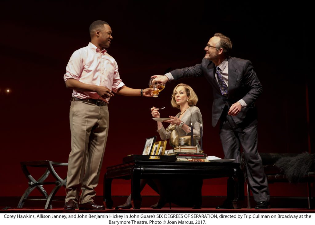 Six Degrees of SeparationBROADWAYPLAYETHEL BARRYMORE THEATRE243 W. 47TH ST.