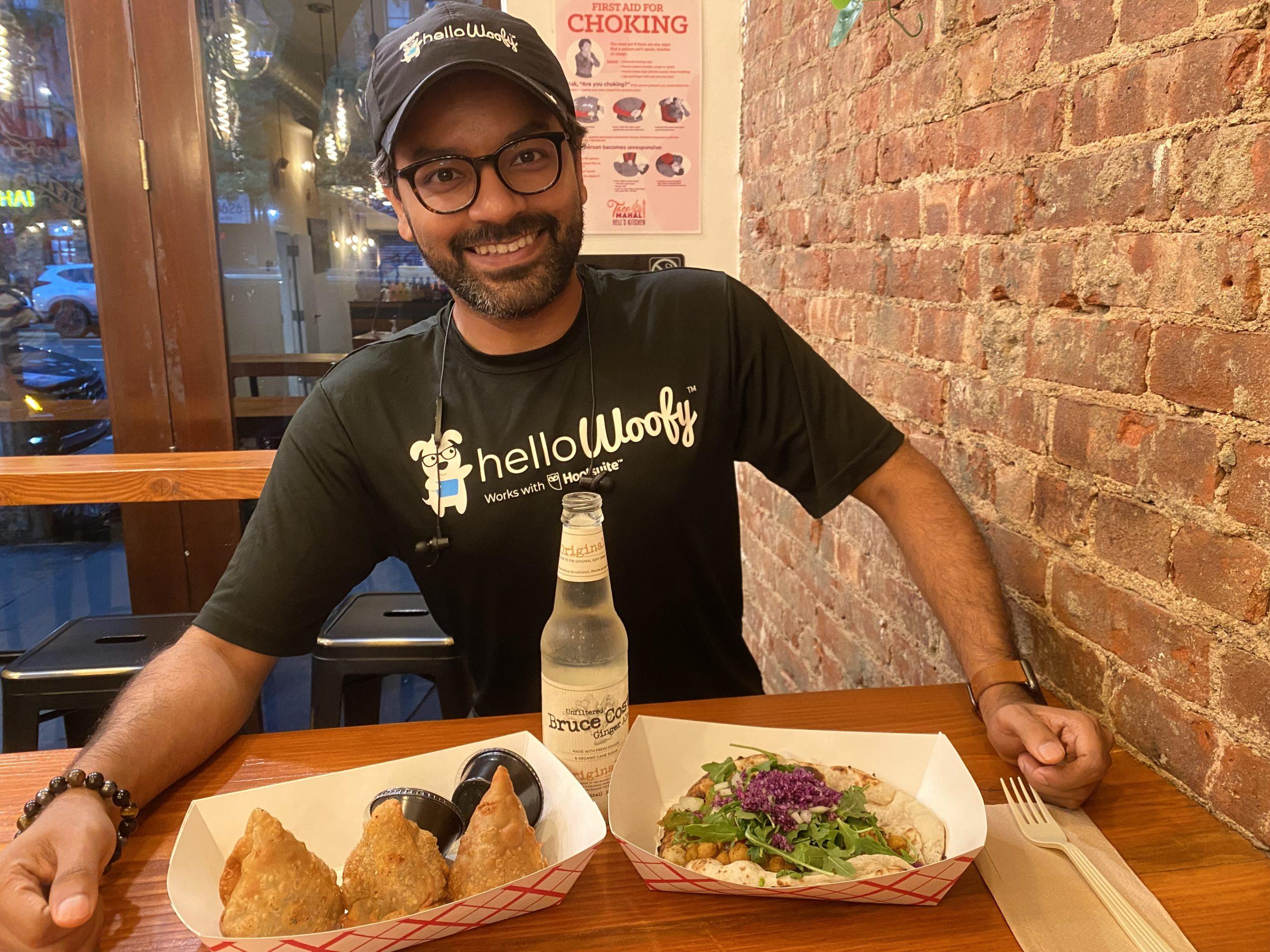 Arjun Rai the HelloWoofy CEO at TacoMahal
